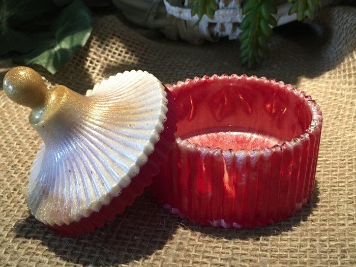 Round Jewelry Dish2 w/Lid