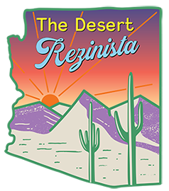 The Desert Rezinista Logo